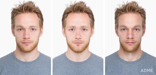 Üzümüz tam simmetrik olsaydı, belə görünərdik - FOTOLAR
