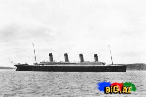 """""""Titanik""""in gerçək FOTOLARI: Sən demə, gəmi batarkən..."""