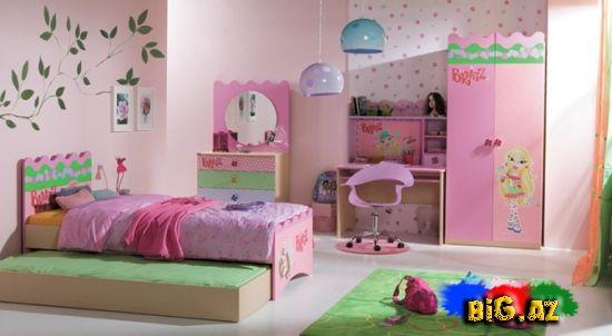 Uşaq otağı üçün yataq dəstləri