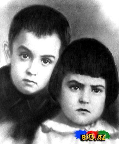 Zerife xanımın valideynleri E.Eliyev ve L.Eliyeva. 1931-ci il.