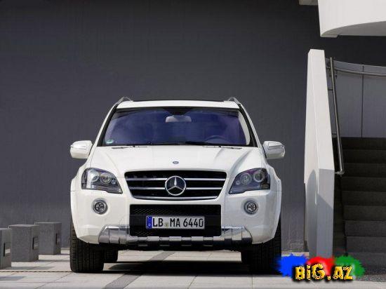 Brabus Mercedes-Benz ML 63 və Mercedes-Benz ML 63