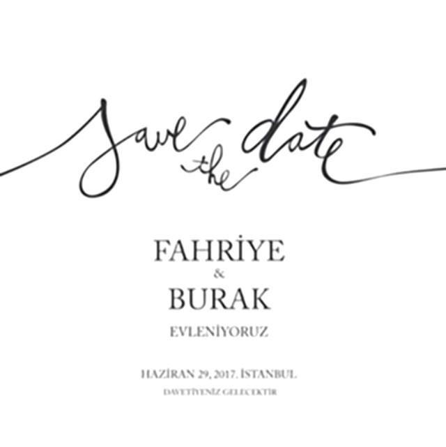 """Toya hazırlaşan Burak və Fahriye: """"Bu tarixi əsla unutmayın"""""""