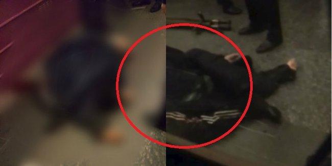 Bakı metrosunda özünü qatarın altına atan kişi öldü - VİDEO