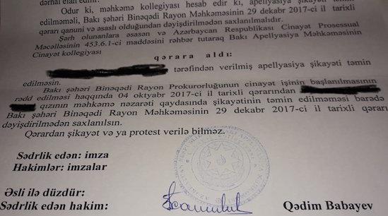 Azərbaycanda 24 yaşlı oğlan facebookda tanış olduğu qızı evinə aparıb zorladı - FOTOLAR