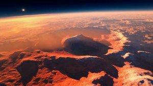 NASA Marsdakı nəhəng rəngli kraterlərin şəkillərini nümayiş etdirdi