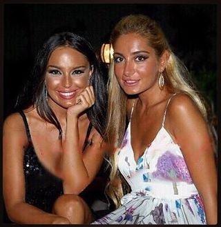 Leyla və Arzu Əliyevalar - FOTOLAR