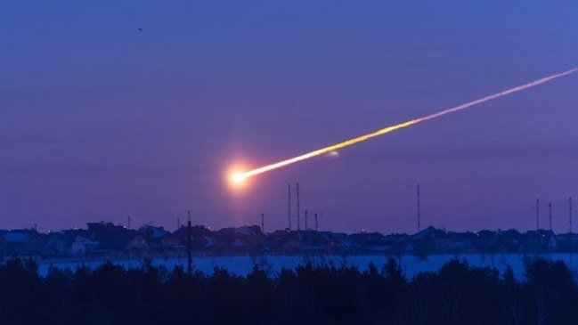 Evin damına meteorit düşdü