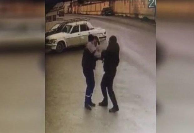 """""""Kürd Vüqar"""" xalasının ərini iki zərbəyə öldürdü – VİDEO"""