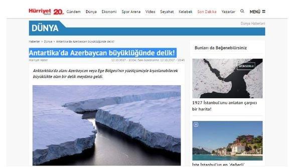 Türk mətbuatından Azərbaycana hörmətsizlik - FOTO