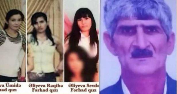 63 yaşlı kişi arvadını və 4 qızını belə öldürüb - Salyandakı amansız qətlin TƏFƏRRÜATI