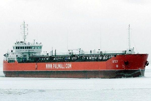 """""""Palmali""""nin yük tankeri Danimarka limanında saxlanılıb"""