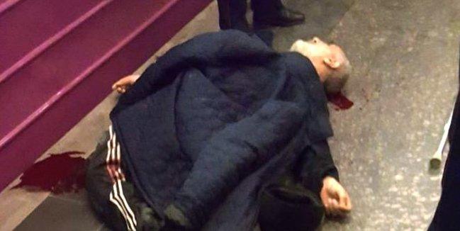 Bu gün Bakı metrosunda intihar etmək istəyən kişinin FOTOSU (+18)