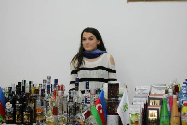 Səfirlər və dövlət nümayəndələrinin iştirakı ilə Gürcüstan ticarət evi istifadəyə verildi - FOTOLAR
