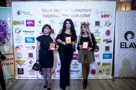 """""""Star-2017 Mükafatı""""nın sahibləri bəlli oldu - FOTOLAR"""