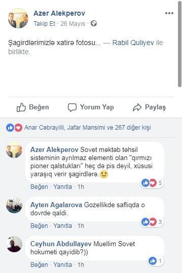 Bakıda məktəb direktorunun erməni sevgisi - FOTOLAR