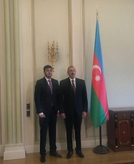 Prezidentin iş otağından FOTOLAR - Leyla Əliyeva paylaşdı