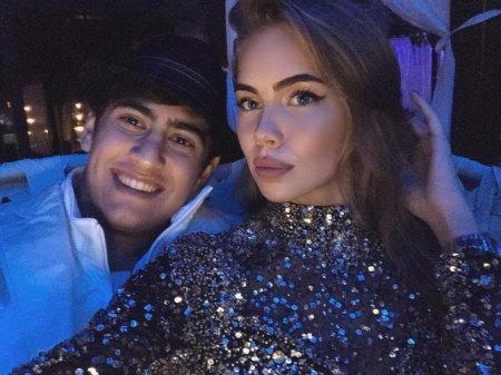 Azərbaycanlı milyarderin 17 yaşlı oğlu və onun model sevgilisi – FOTOLAR