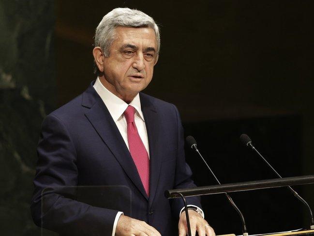 Sarkisyan Ermənistanın baş naziri oldu