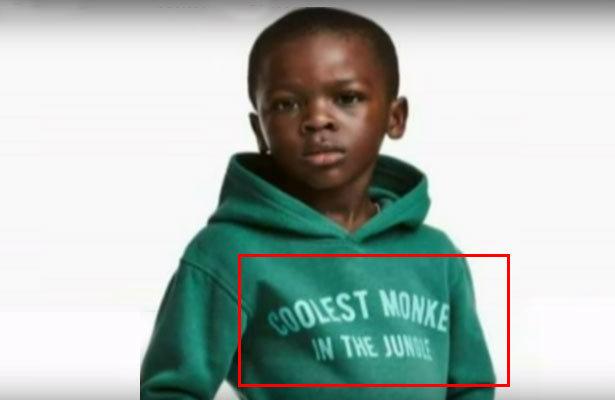 """""""Cəngəlliyin ən cəld meymunu"""" reklamına görə İsveçin H&M mağazalarını alt-üst etdilər! (Video izlə)"""