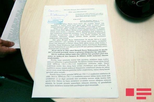 """""""Faytonçu"""" Nazimin məhkəməyə verdiyi cərrah: Mənim etdiyim əməliyyat nəticəsində yaşayır - FOTOLAR"""