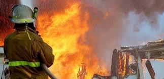 Sabunçuda DƏHŞƏT: İki otaqlı ev yanıb kül oldu