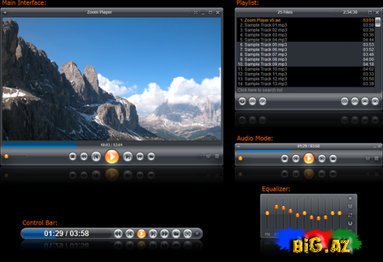 Zoom Player Home Professional v7.00
