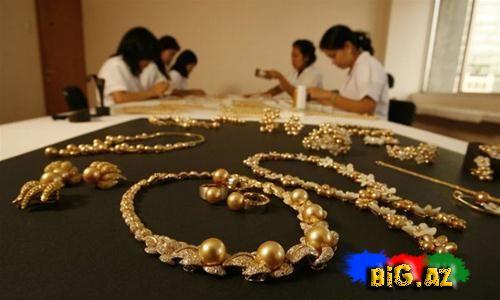 Filippinin Palavan adasında tapılan nadir qızıl mirvari (Fotolar)