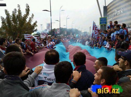 Türkiyə Futbol Federasiyasına hücum olub –FOTO
