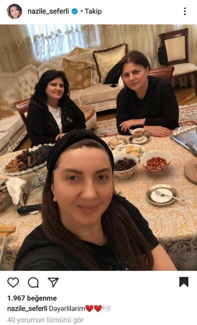 Nazilə Səfərli ONLARLA fotosunu PAYLAŞDI- FOTO