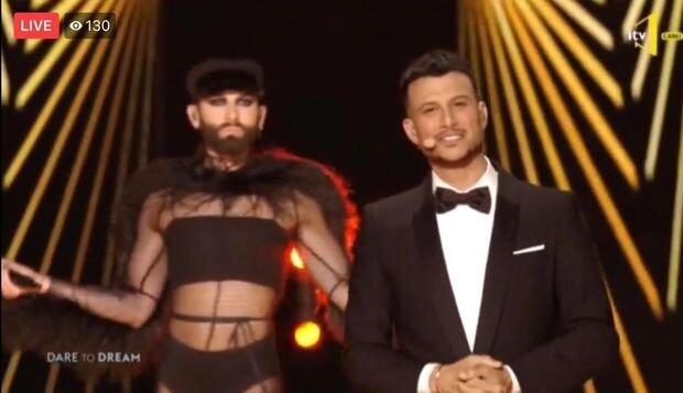 """Konçita yenidən """"Eurovision"""" səhnəsində - FOTO/VİDEO"""