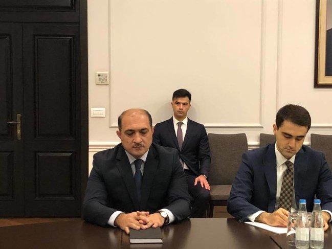 Yeni nazir müavini kollektivə təqdim olundu - FOTO